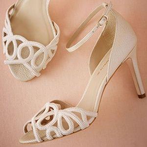 BHLDN Guilhermina Wedding Heels